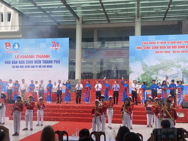 Khánh thành nhà văn hóa sinh viên hơn 400 tỷ đồng tại khu đô thị ĐH lớn nhất nước - 2