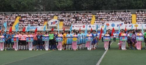 Hình ảnh: Chính thức khởi tranh Giải bóng đá sinh viên TP.HCM 2019 số 5