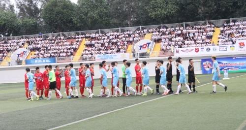 Hình ảnh: Chính thức khởi tranh Giải bóng đá sinh viên TP.HCM 2019 số 6