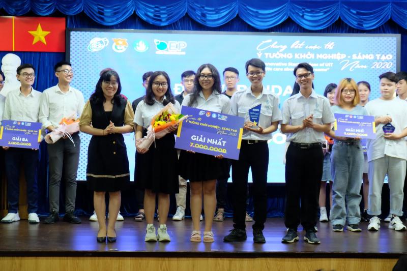 """Trường ĐH Công nghệ Thông tin tổ chức chung kết cuộc thi """"Ý tưởng khởi nghiệp - Sáng tạo"""""""